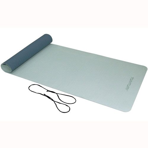 Tunturi TPE Yogamat - Fitnessmat - 4mm dik - Blauw