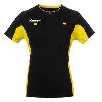 Kempa Scheidsrechter Shirt Vrouwen - Zwart-Geel