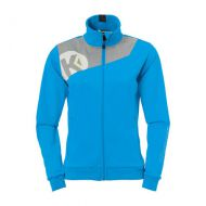 Dames Kempa Core 2.0 Poly Jacket - Blauw-Grijs