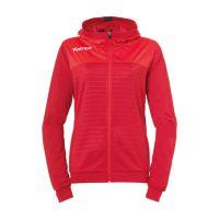 Dames Kempa Emotion 2.0 Hooded Jacket - Rood