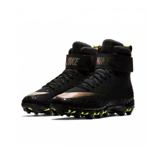Korfbalschoenen Nike Force Savage Shark - Zwart-Goud