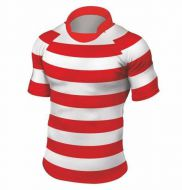 Rugbyshirt 2 Inch Hoops