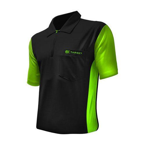 Dartshirt Target Coolplay Hybrid 3 - Zwart-Groen