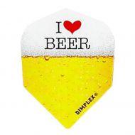 Dart Flight Harrows Dimplex I Love Beer