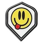 Dart Flight Poly Metronic Smiley